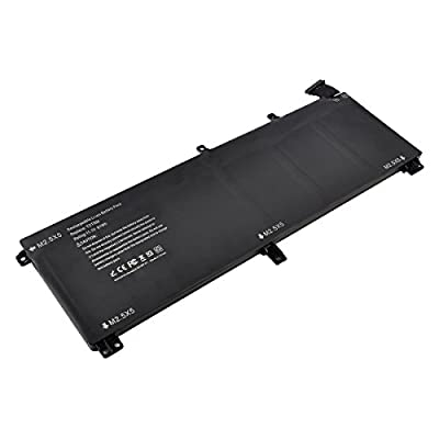 T0TRM, 245RR Laptop Battery for Dell XPS 15 9530,Precision M3800 Series[Li-Polymer 61WH 11.1V] ---18 Months Warranty