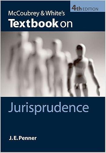 McCoubrey & Whites Textbook on Jurisprudence