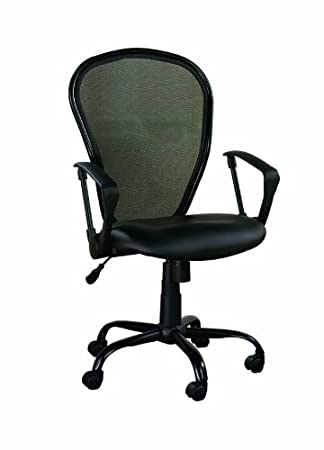 Z Line Designs Mesh Back Chair, Black