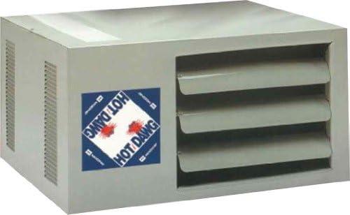 Modine Hd45as0111natural Gas Hot Dawg Garage Heater 45 000 Btu With 80 Percent Efficiency Amazon Com