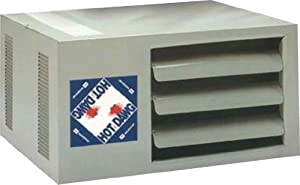 5. Modine HD45AS0111Natural Gas Hot Dawg Garage Heater 45,000 BTU with 80-Percent Efficiency