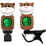 Guitar Tuner For All Instruments Ukulele Guitar Bass Mandolin Violin Banjo Large Clear LCD Display For Guitar Tuner Chromatic Tuner