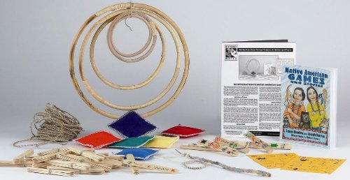 Native American Games Craft Kit (makes 25 projects) by Nature-Watch (Image #1)