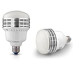 Neewer® 45W 5500K LED Daylight Balanced Light Bulb Lamp in E27 Socket for Photography and Video Lighting (45 W 110V)