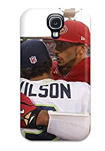 Shock-dirt Proof Seattleeahawks Case Cover For Galaxy S4