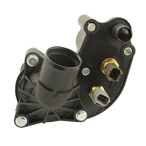 New Thermostat Housing With Sensors For Ford Explorer Mountaineer 4.0L V6 97-01 ()