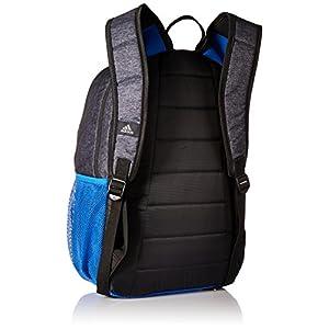 adidas Mission Backpack, Jersey Black/Blue/Black, One Size