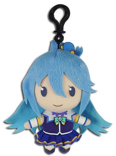 "Price comparison product image Great Eastern Entertainment Konosuba - Aqua Collectible Plush Toy, 5"""