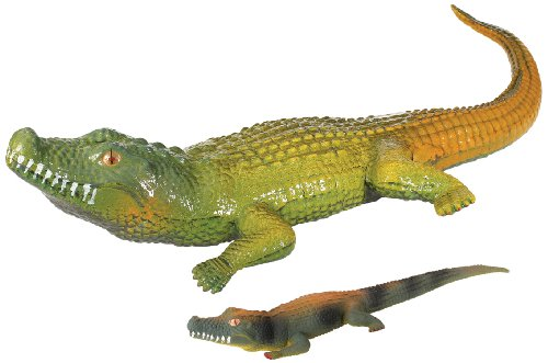Mad Dog Lizard - Toysmith 8603 Ginormous Grow Crocodile, 32-Inches, Assorted Colors