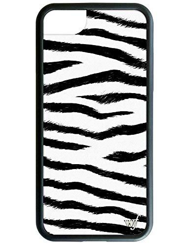 iPhone 6、7、または8用ワイルドフラワー限定版iPhoneケース(ゼブラプリント)   B07H5R53L1