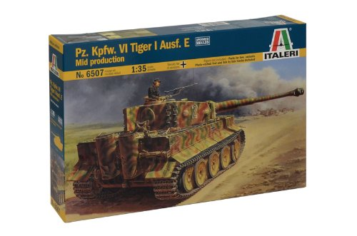 3 opinioni per Italeri 6507- Pz.Kpfw. VI Tiger I Ausf.E Mid Production Model Kit Scala 1:35