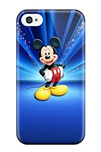 Hot Snap-on Cartoons Cartoon Mickey Mouse Hard Cover Case/ Protective Case For Iphone 4/4s