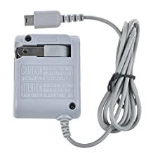 SLLEA AC Home Wall Plug Travel Power Adapter Charger Plug for Nintendo DS Lite DSL NDSL