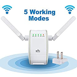 Minidiva 300Mbps Wireless-N WiFi Mini Router Repeater Range Extender Booster 802.11n/g/b
