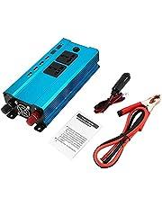 Professionele 4000 W Omvormer DC naar AC Home Fan Koeling Auto Converter voor Huishoudelijke Apparaten 4 USB Power Poorten