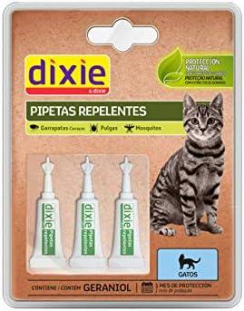 TODOPETS Dixie Pipetas Gato Insectifuga 3x1