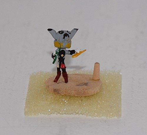 MICRO Wolf Kachina with Removable Mask Wolf Kachina