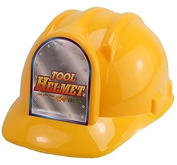 1 X Helm Bauarbeiterhelm Fur Kinder Bauhelm Amazon De Spielzeug