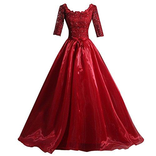 beaded applique babydoll dress - 8