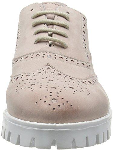 Derby Elfenbein Chunkies Schnürhalbschuhe 160070s Sh Fard Damen Blanco Shoes Zapatos Sommer Mujer Shoot Shoot de Cordones 6Pq1gg