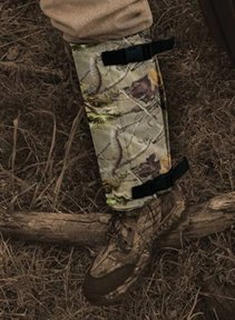 (Rattler Scaletech Snake Protection Gaiters (Green))