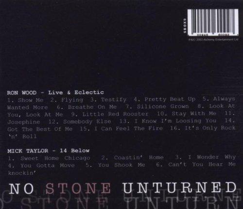 No Stone Unturned: Ron Wood, Mick Taylor: Amazon.es: Música