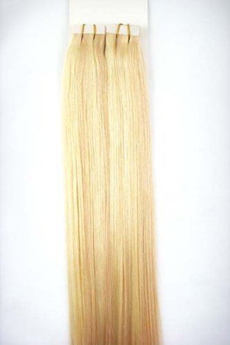 20inch Brown Blonde Highlight Tape In Human Hair Extensions Long Straight Seamless Skin Weft Invisible Double Sided 40pcs 100g 20pcs Extra Tapes