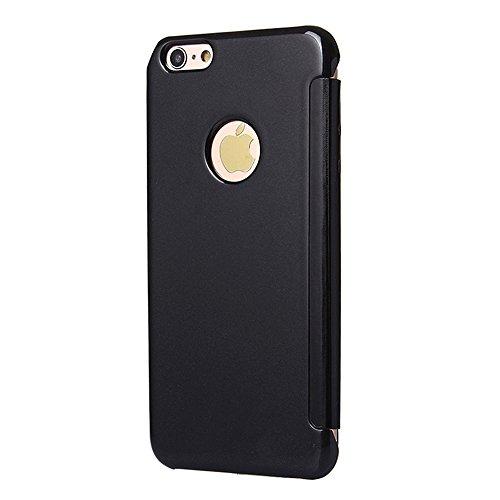 Smartcase Etui pour iPhone 6/6s Noir