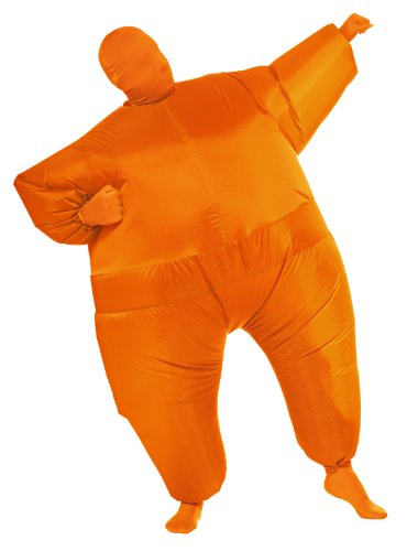 Adult Orange Costumes (Rubie's Costume Inflatable Full Body Suit Costume, Orange, One Size)