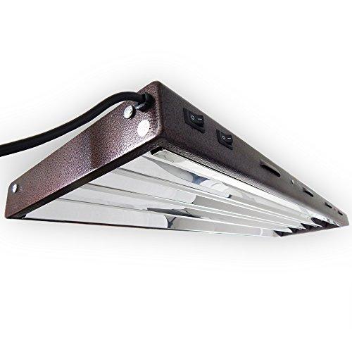 ViaVolt T5 HO Fluorescent Fixture, 4' - 4 Lamp