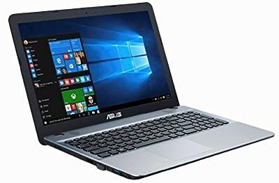 ASUS VivoBook X540SA 15.6-Inch High Performance Premium HD Laptop (Intel Quad Core Pentium N3710 Processor up to 2.56 GHz, 4 GB RAM, 500 GB HDD, Windows 10), Integrated WebCam, Bluetooth 4.0, Silver