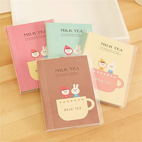 Amazon.com: Daisy Storee Korean Milk Tea Cute Planner ...