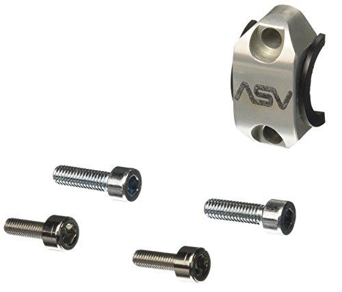 ASV Inventions RCU02-S Silver Stock Clutch Perch Rotator Clamp (Asv Clutch Perch)