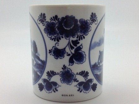 Dutch Gift Delft Windmill Coffee Cup Photo #5