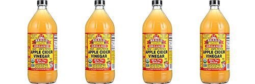 Cider With Mother Vinegar Bragg Apple (Bragg Organic Raw Unfiltered Apple Cider Vinegar With The Mother 4 Quarts or 1 Gal (when available))