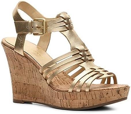 Audrey Brooke Carina Wedge Sandal | Sandals