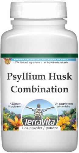 Psyllium Husk Combination Powder - Psyllium, Hibiscus and Licorice (1 oz, ZIN: 512571) - 3 Pack - Psyllium Herbal Combination Powder