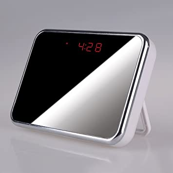 Best HD SPY Camera clock with Motion detection, Alarm, Design ...