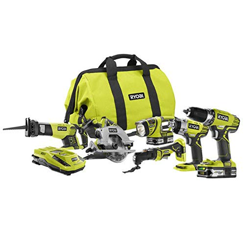Ryobi ZRP884 18V One Plus Lithium-Ion Ultimate Combo Kit