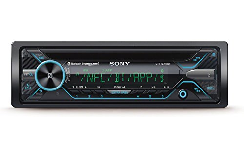 Sony MEX-N5200BT CD Receiver with Bluetooth, external microphone and SiriusXM Ready (Disco by manufacturer) (Sony Amp And Subwoofer)