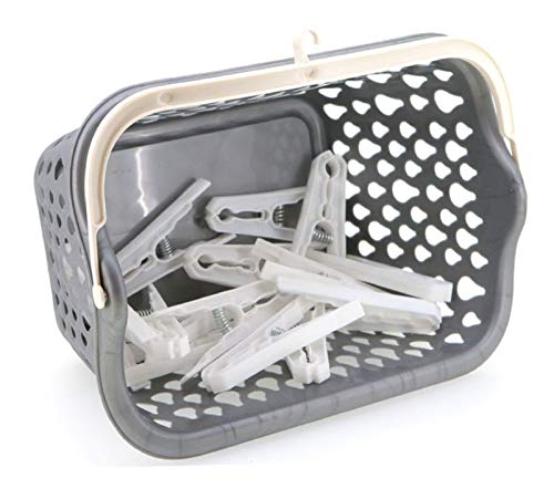 PAMEX Peg Basket grey