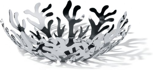 Alessi Mediterraneo 11-1/2-Inch Fruit Holder, Stainless Steel
