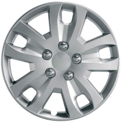 UKB4C 13 Set x 4 Silver Multi-Spoke Wheel Trims Hub Caps Covers Protectors