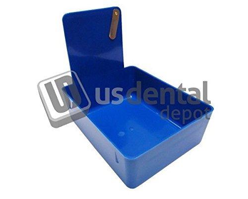 KEYSTONE - Classic Lab Work Pans - Blue w/clip - 12pk - made 034-7000371 Us Dental Depot