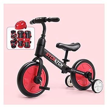 Amazon.com: SYLTL bici de equilibrio biciclo de dos ruedas ...