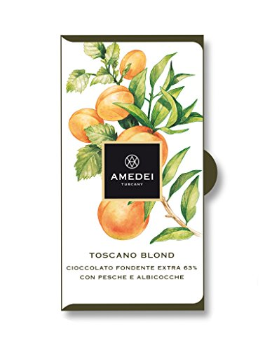 Apricot Chocolate Candy (Amedei Toscano Blond, Dark Chocolate Bar with Peaches and Apricots)