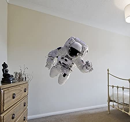 V&C Designs Ltd Space Astronaut Wall Sticker Decal Mural Vinyl ...