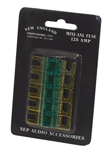 - NEP Mini-ANL Fuse 5-Pack (125 Amp)