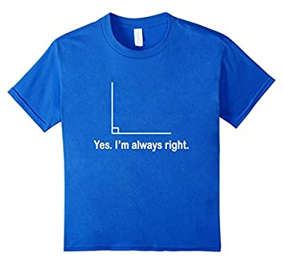 Funny Math / Geometry / Right Angle T-shirt