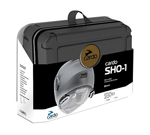 Cardo Unisex-Adult Shoei Helmet Communication System (Dual Pack) (,